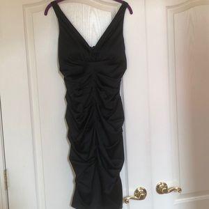 Pretty little satin dress